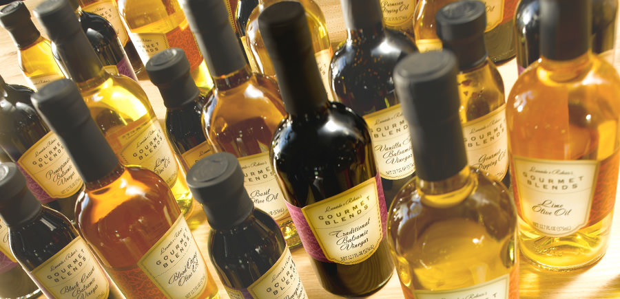 Gourmet Blends Balsamic Vinegar and Gourmet Olive Oils