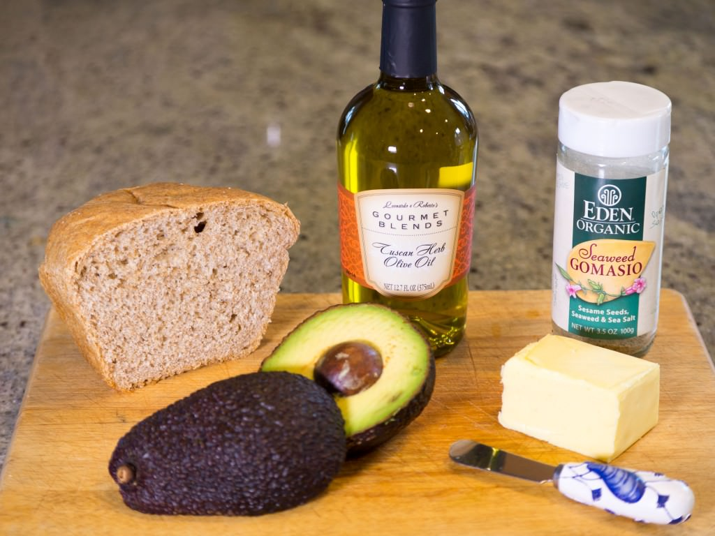 Tuscan-Herb-Olive-Oil-Toast-Ingredients