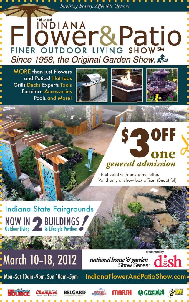 Join Us At The Indianapolis Flower And Patio Show!